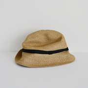 mature ha. BOXED HAT 104 mixbrown×black