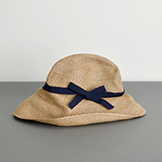 mature ha. BOXED HAT 101 mixbrown×navy