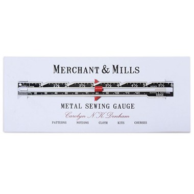 M&M METAL SEWING GAUGE