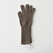 William Brunton Long Cuff Gloves BR