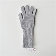 William Brunton Long Cuff Gloves L.GRY