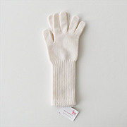 William Brunton Long Cuff Gloves NAT