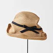 mature ha. BOXED HAT 101 grosgrain black