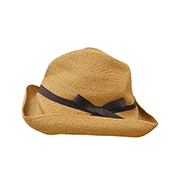 mature ha. BOXED HAT 101 grosgrain dark brown